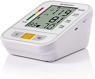 AFANG Tensiometro Brazo, Pantalla Precisa Pulso Pulsómetro Digital Automático, 2 Usuarios 99 * 2 Herramienta Familiar Voz Esfigmomanómetro Electrónico