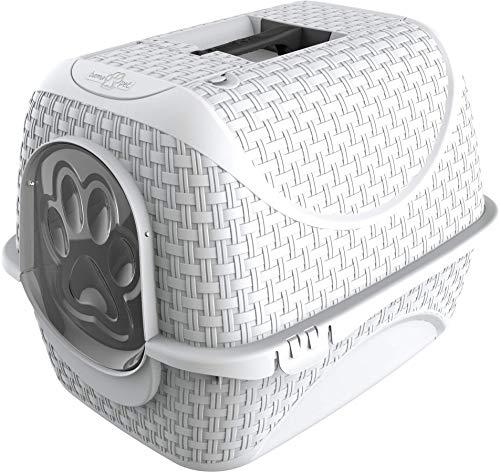 FLAMINGO 560613 Litière pour Chat Prive Blanc