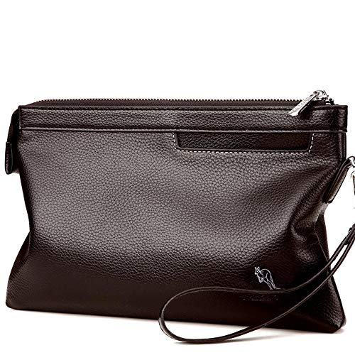 Style Herren Clutch-Tasche Mens Umschlag Bao Nan Kupplung großvolumigen Clutch Leder Geldbörse