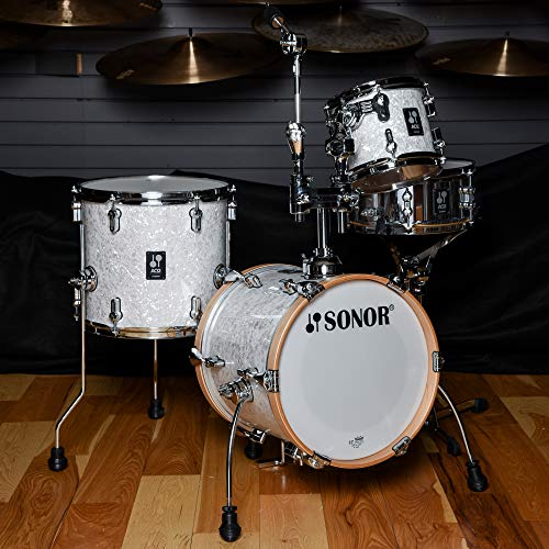 Sonor Martini 8/13/14/5x12 4pc Kit White Pearl