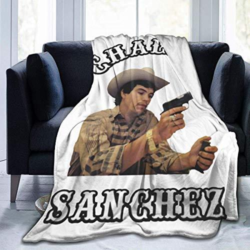Chalino Sanchez Ultraweiche Micro-Fleecedecke, 127 x 152 cm