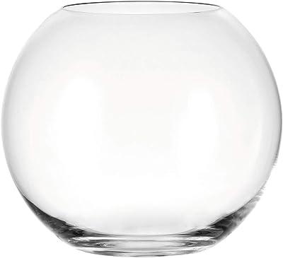 Cuenco de cristal redondo para usar como jarrón, pecera, centro de ...