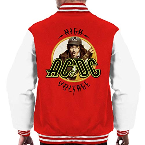 AC/DC High Voltage Angus Young Men's Varsity Jacket