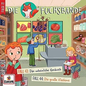 022/Fall 43: Das unheimliche Geräusch/Fall 44: Die große Kleckerei