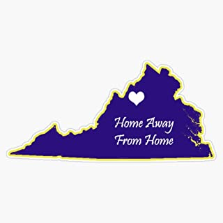 Jmu Home Away From Home Sticker Vinyl Waterproof Sticker Decal Car Laptop Wall Window Bumper Sticker 5""