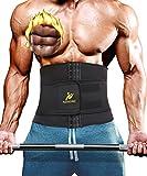NINGMI Waist Trimmer Belly Weight Loss Fat Sauna Sweat Wrap...