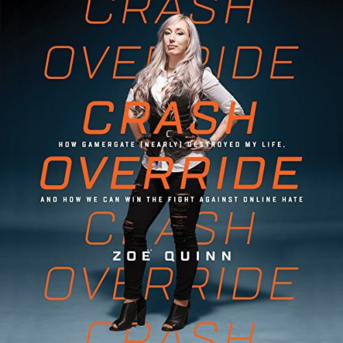 Crash Override audiobook cover art