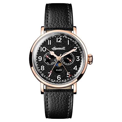 Ingersoll Orologio Cronografo Quarzo Uomo con Cinturino in Pelle I01602