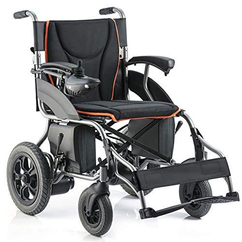 APOAD Elektrischer Rollstuhl, Intelligente Automatische Faltbar Elektrorollstuhl,38kg Aluminiumlegierung Faltbar Tragbare,sitzbreite 44cm,20ah Lithiumbatterie,für ältere Und Behinderte Menschen