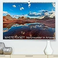 WHITE POCKET - Naturwunder in Arizona (Premium, hochwertiger DIN A2 Wandkalender 2022, Kunstdruck in Hochglanz): Traumhafte Landschaftsaufnahmen von diesem wenig bekannten Naturwunder in Arizona (USA) (Monatskalender, 14 Seiten )
