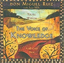 The Voice Of Knowledge: Toltec Wisdom, a 48-card Deck The Voice Of Knowledge
