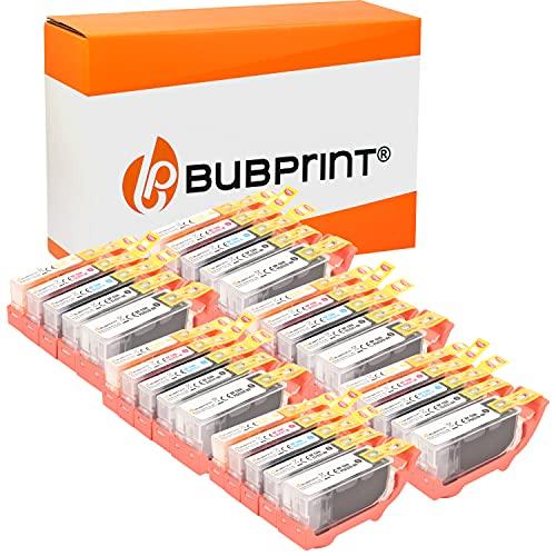 Bubprint Kompatibel Druckerpatronen als Ersatz für Canon PGI-520 CLI-521 für Pixma IP3600 IP4600 IP4700 MP540 MP550 MP560 MP620 MP630 MP640 MP980 MX860 MX870 30er-Pack