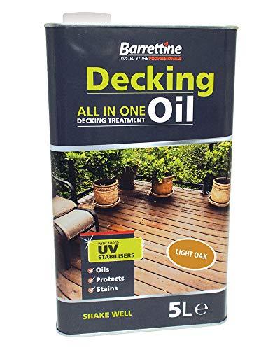 Nourish & Protect DOCP005 Light Oak 5 L Decking Oil