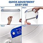 SGODDE 10 Pcs Pantalla Protección Facial Transparente, Protector Facial de Seguridad, Viseras de Seg... #5