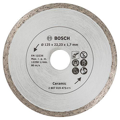 Bosch Diamanttrennscheibe für Fliesen, 125 mm, 2607019473