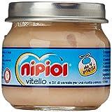 Nipiol Omogeneizzato Carne, Vitello - 24 Vasetti da 80 gr