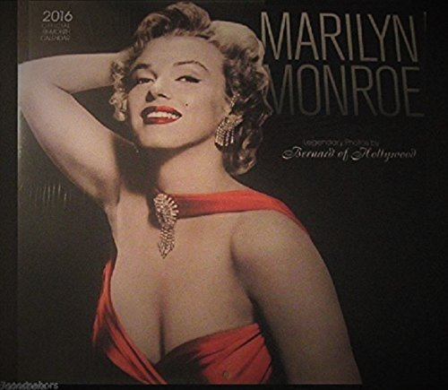 Marilyn Monroe 2016 Wall Calendar Pin-ups Bruno Bernard of Hollywood