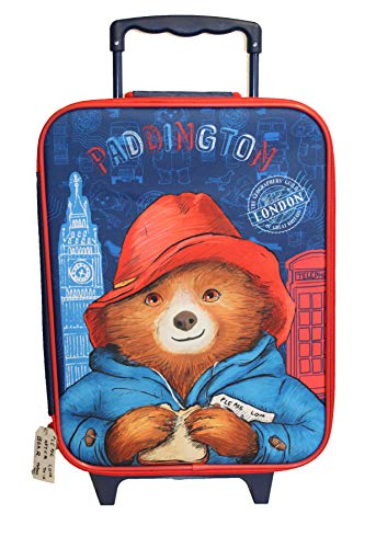 Paddington Bear London Trolley Bag Suitcase
