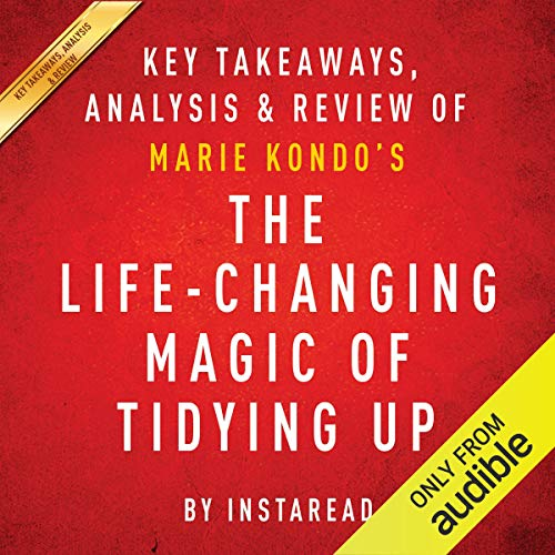 Couverture de The Life-Changing Magic of Tidying Up: The Japanese Art of Decluttering and Organizing by Marie Kondo