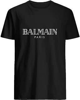 Best balmain paris t shirt black Reviews
