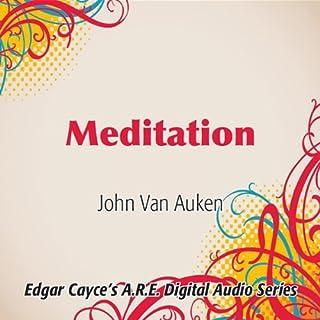 Meditation audiobook cover art