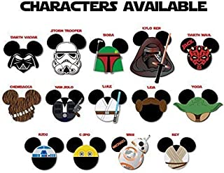 Star Wars STANDARD SIZE Mouse Head Magnets for Disney Star Wars Day at Sea
