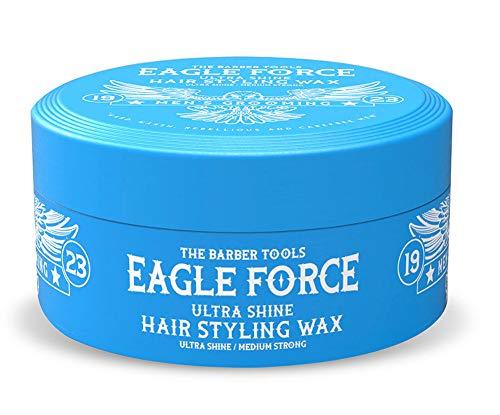 Eagle Force Ultra Shine Medium Strong Hair Wax Haarwachs Haar Styling Wachs Herren Haargel 150ml