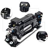 Compresor de suspensión neumática con soporte y bloque de válvulas para F07 535i 550i GT F01 F02 740Li 750Li 760Li Alpi-na B7 3.0L 4.4L 37206784137