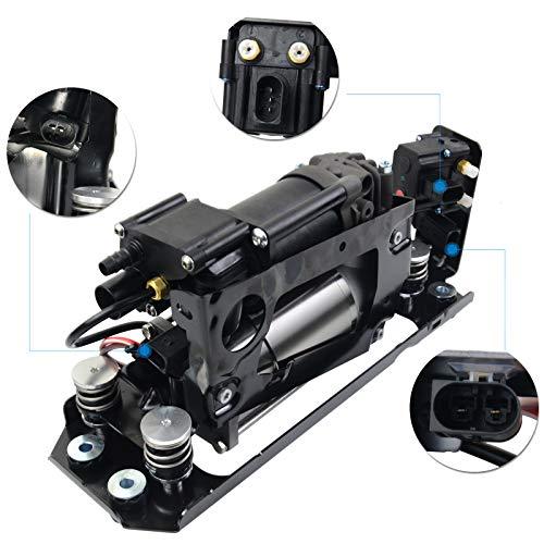 SCSN Bloque de válvula del compresor de suspensión neumática 37206864215 37206794465