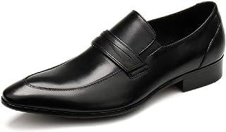 Chaussures en cuir d'affaires,Derbies Lace Up Chaussures pour homme Fait à la main en cuir de vache Marcher Party Banquet ...