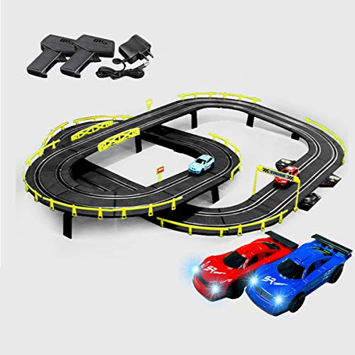 4.1M Pista De Carreras Para Dos Personas Juguete Educativo Bloques De Autos...