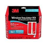 3M Indoor Patio Door Insulator Kit, Heat or Cold Insulation for Large Windows and Sliding Doors, 1-Door Kit, 7 ft. x 9.3 ft of film, Fits 6 ft 8 in x 9 ft Patio Door