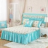 HPPSLT Protector de colchón - Protector de colchón antialérgico Colchón de algodón de una Pieza -13_180 * 200cm