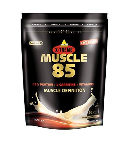 Inkospor X-Treme Muscle 85, Vanille, 500g Beutel