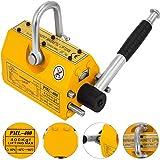 Happybuy Steel Magnetic Lifter 880 LB Metal Lifting Magnet 400 KG Neodymium Magnetic Lift ...