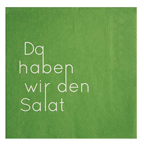 Räder Serviette Da haben wir den Salat