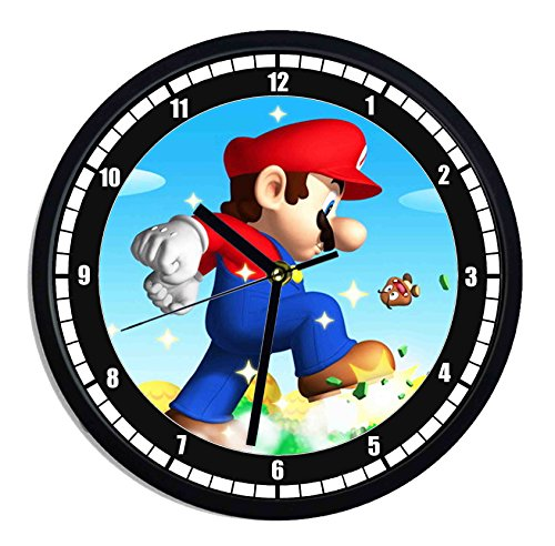 Orologio da parete in plastica Super Mario Bros