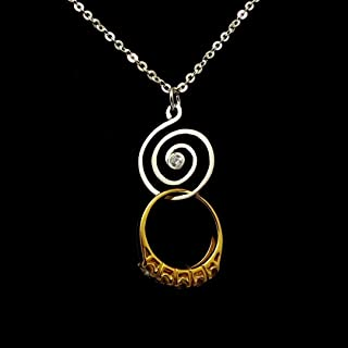 handmade diamond necklace