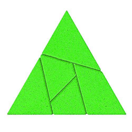 Anker - 2041695 - Puzzle en Bois - Le Triangle - 5 Pièces