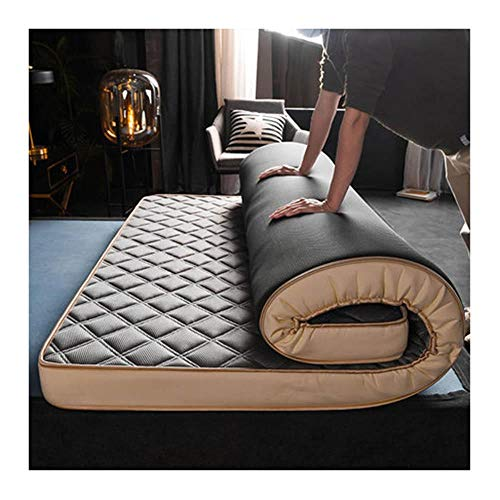 Yuan Ou Mattress Natural and Memory sponge filling Student Mattress 8cm / 5cm thicknes stereoscopic Breathable Thicken Single double 90x200x8cm gray