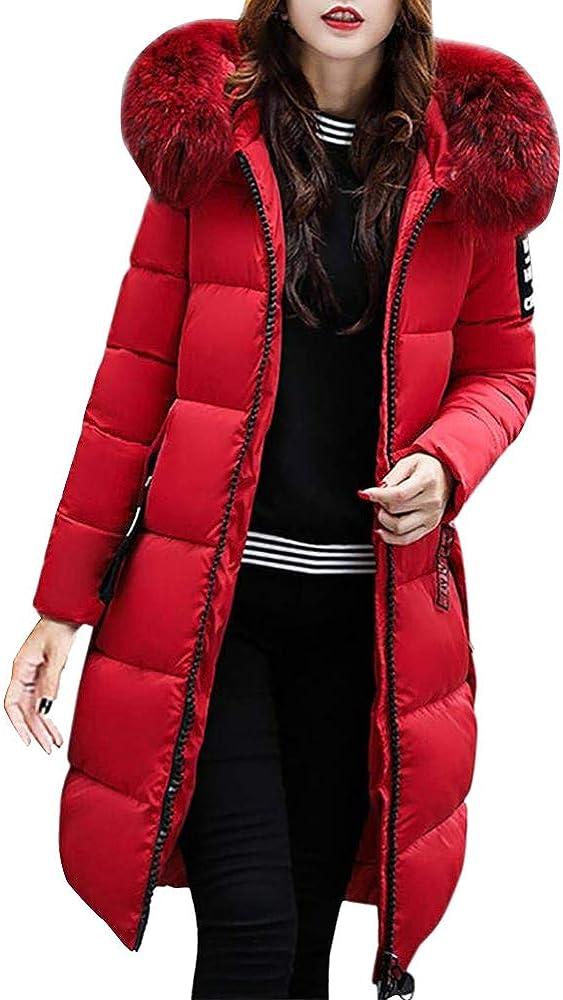 Orandesigne,piumino parka trench coat,cappotto con cappuccio collo di pelliccia per donna ZR180930XW