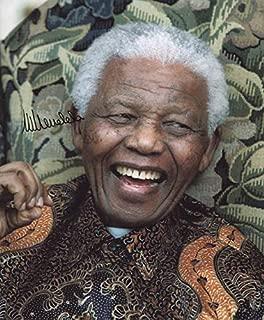 President Nelson Mandela (South Africa) - Photograph Signed