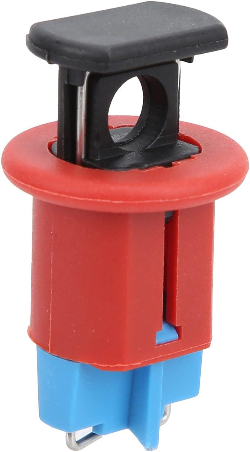 01 Minicerradura para disyuntor, Dispositivo de Bloqueo de Circuito en Miniatura Suave con Hebilla Tipo botón para Industria eléctrica