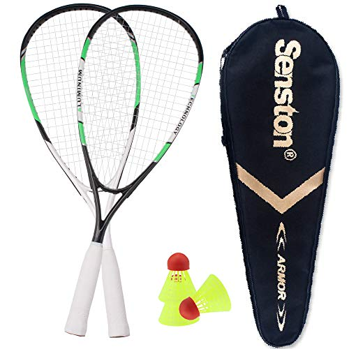 Senston Speed Badminton Speedminton/Crossminton Allround Set Set with 3 Speeder
