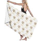 AGSIGGS Asciugamani da Bagno per nuotatori in Hotel, Goldendoodle, Leggeri e Morbidi, da Viaggio, per Spiaggia, Sport, Campeggio, Nuoto, Palestra, Doccia