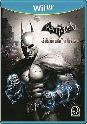 Wii U Batman: Arkham City -- Armoured Edition (PEGI)