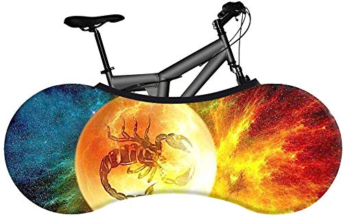 Yppss Bike Cover Bicycle Indoor Storage Cover-X18 Style-Best Solution for Indoor Bicycle Storage,Tire Size: 26-28 inches Color : X18, Size : 16055CM(2628INCH)