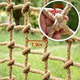 DFGHJKNN Red De Escalada De Entrenamiento Extendido,Red De Seguridad Nylon Rope Net Cargo Net Climbing Kids Climb Net Rope Cargo Netting Swing Set Large for Niños Adult,12mm 20cm,1×9m(3.3×29.5ft)