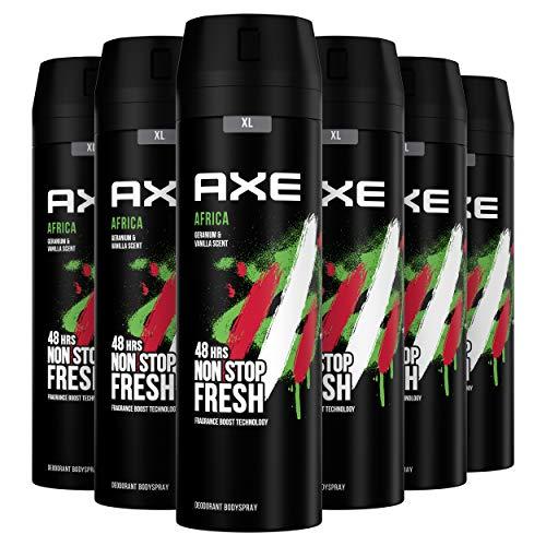 AXE Deodorant Bodyspray Africa - 6 x 200ml