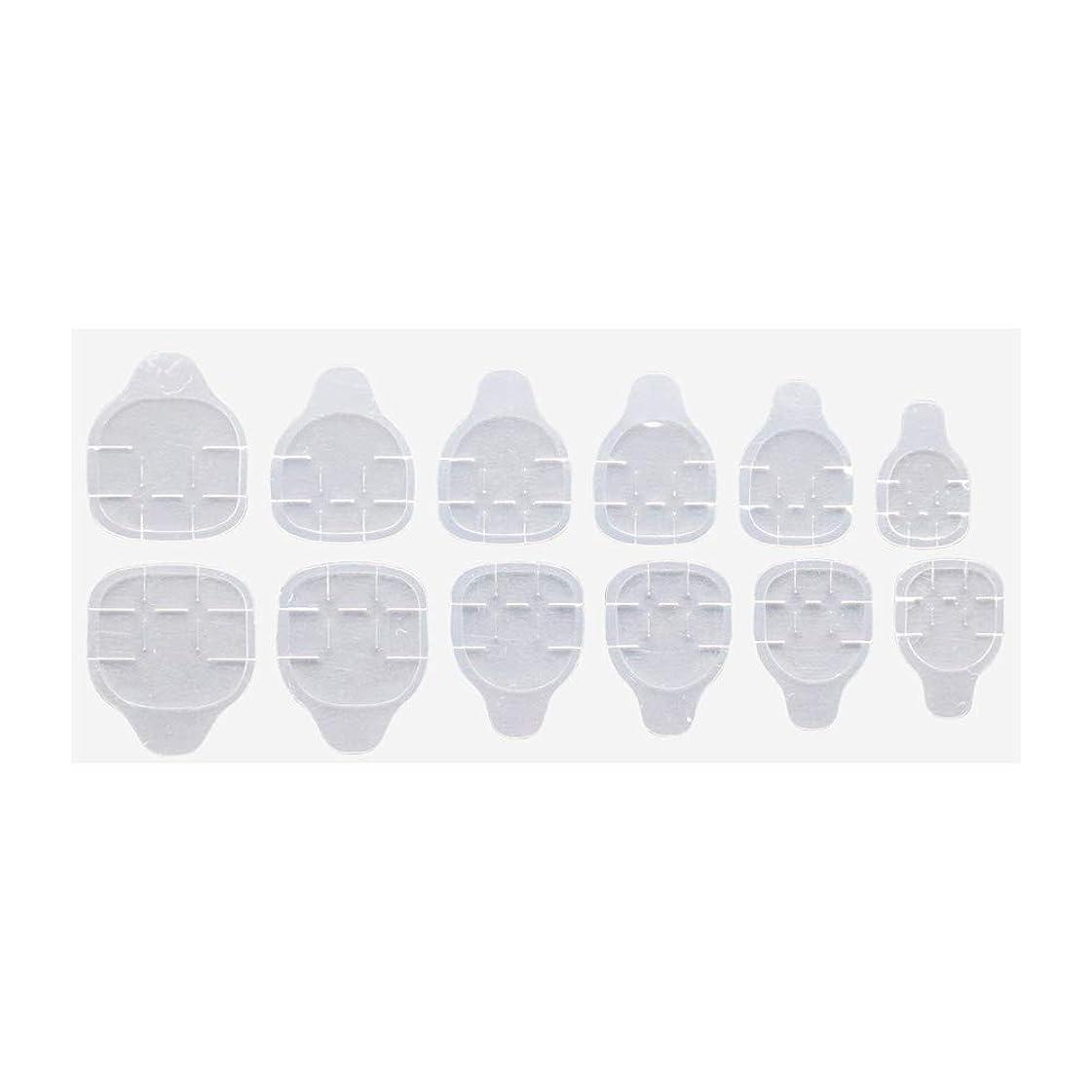重量セラフエンティティグミ状両面テープ 付け爪 ネイルチップ 練習用 ネイルツール ジェルネイル ネイルアート